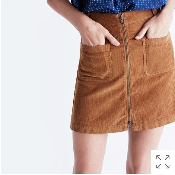 e4d3a2849a Madewell Dresses & Skirts - Madewell Corduroy Zip Mini Skirt